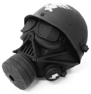 Masque à gaz Darth Vader (the Vador Project, collectif d'art)