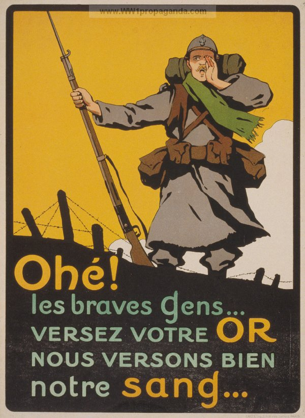 affiche propagande 1914 1918