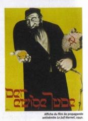 affiche de propagande antisémite