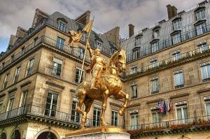 Statue de Jeanne d'Arc, Paris