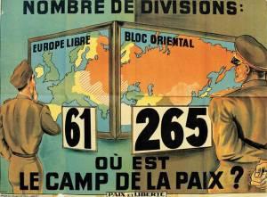 affiche Paix et Liberté 1954