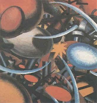 Peinture de Julius Evola (1917)