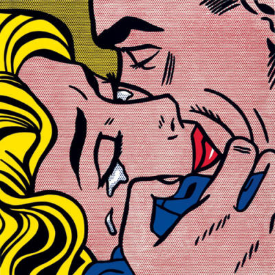 Kiss V de Roy Lichtenstein