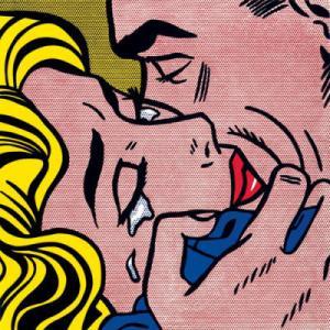 Kiss V de Roy Lichtenstein