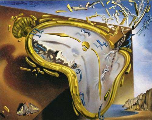 montre molle de Dali