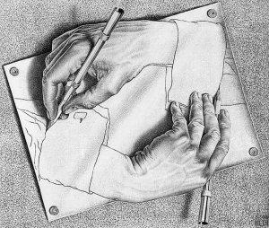 Dessin d'Escher [1948]