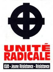 Unite Radicale GUD Jeune Resistance [autocollant]