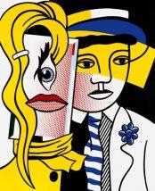 Roy Lichtenstein Stepping Out 1978