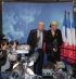 Jean Marie et Marine Le Pen, Tours, par Sylvain Crépon