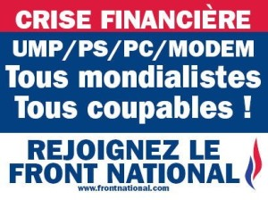 Affiche Front National