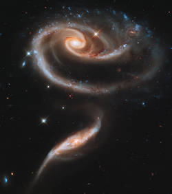 galaxie UGC 1810 [by Hubble]
