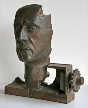 L'Homme-Rouage by Clérin Philippe Philippe Clérin