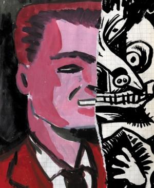 Croquis d'Art Spiegelman [galerie Martel]