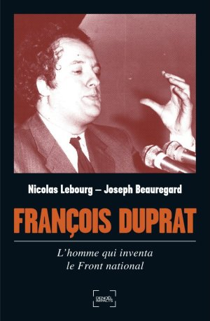 couverture François Duprat