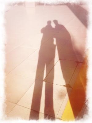 JB et NL [autoportrait à la gare de Lyon]