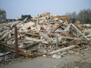 champ de ruines