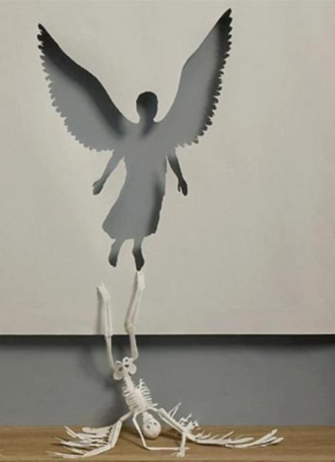 Paper sculpture by Danish artist Peter Callesen