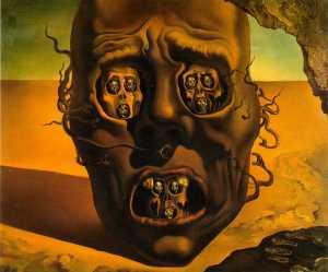 Salvador Dali et l'abyme des périphéries