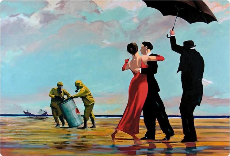 Banksy Crude Oil