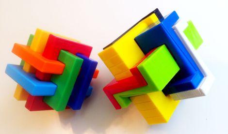 puzzle 3d colors lgbt
