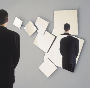 miroirs variation sur Magritte