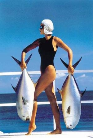 source inconnue femme poissons