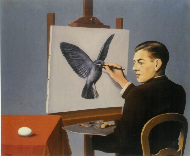 Magritte-Clairvoyance