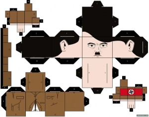 hitlerpapercraft