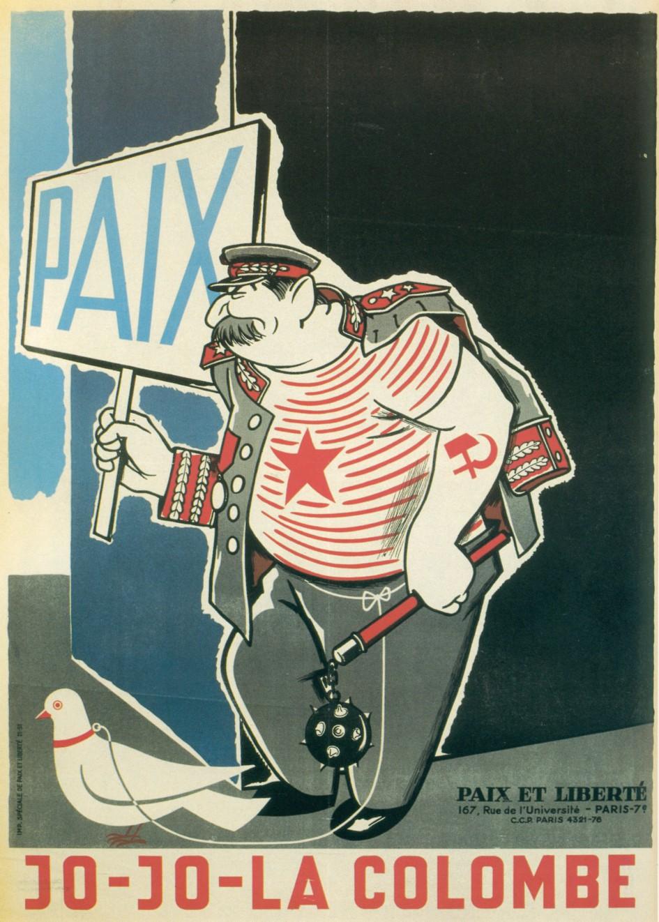 paix et liberté jo-jo la colombe staline