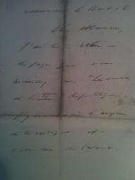 Lettre de De Gaulle à Beuve-Méry (2/2)