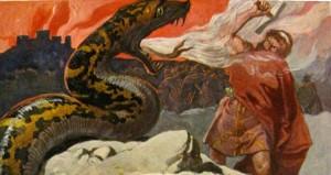 Thor_und_die_Midgardsschlange