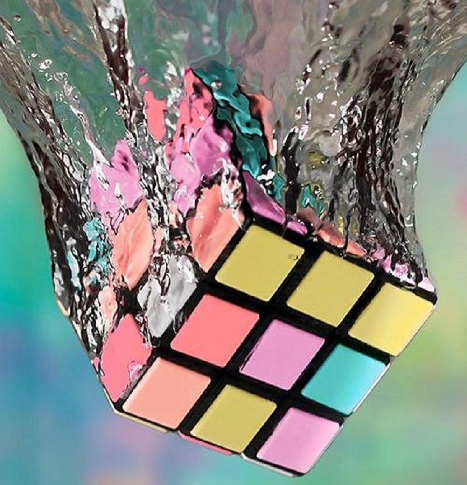 rubik's cube {source inconnue]