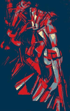 Duchamp escalier Hope