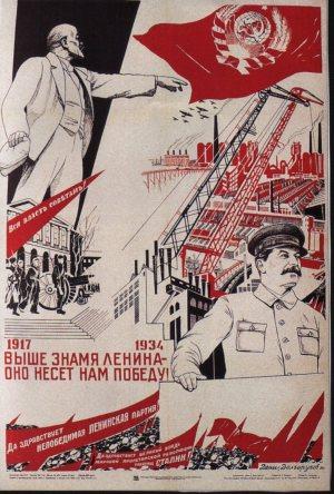 affiche urss 1934