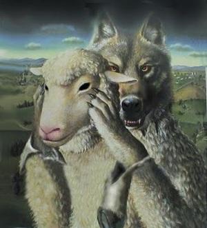 loup agneau source inconnue
