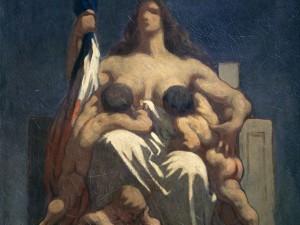 Republique Marianne Daumier