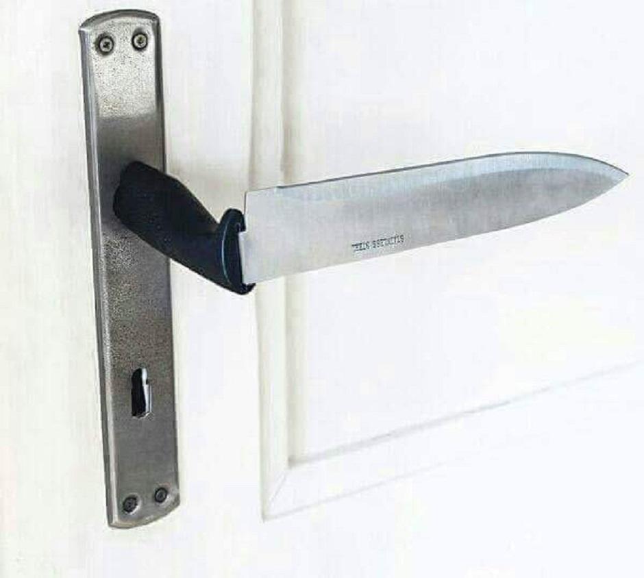 couteau poignée