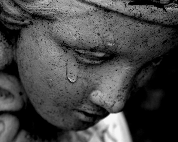 ange pleureur