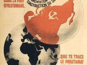 affiche communiste