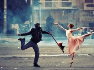 émeute et poésie