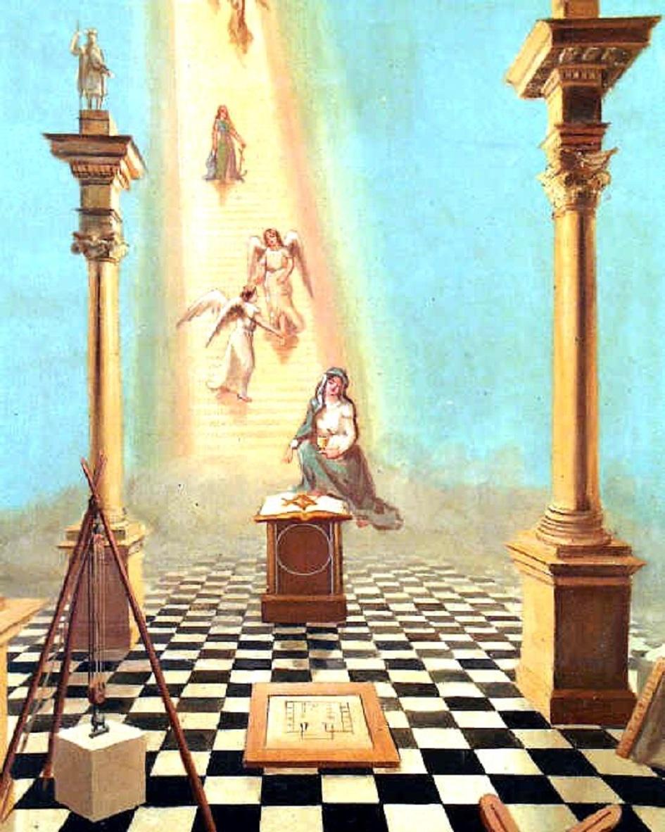 La Spiritualisation  de la franc-maçonnerie française