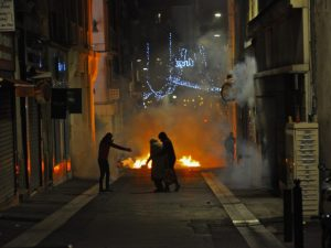 marseille barricade