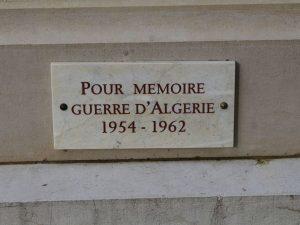 mémoire guerre algérie