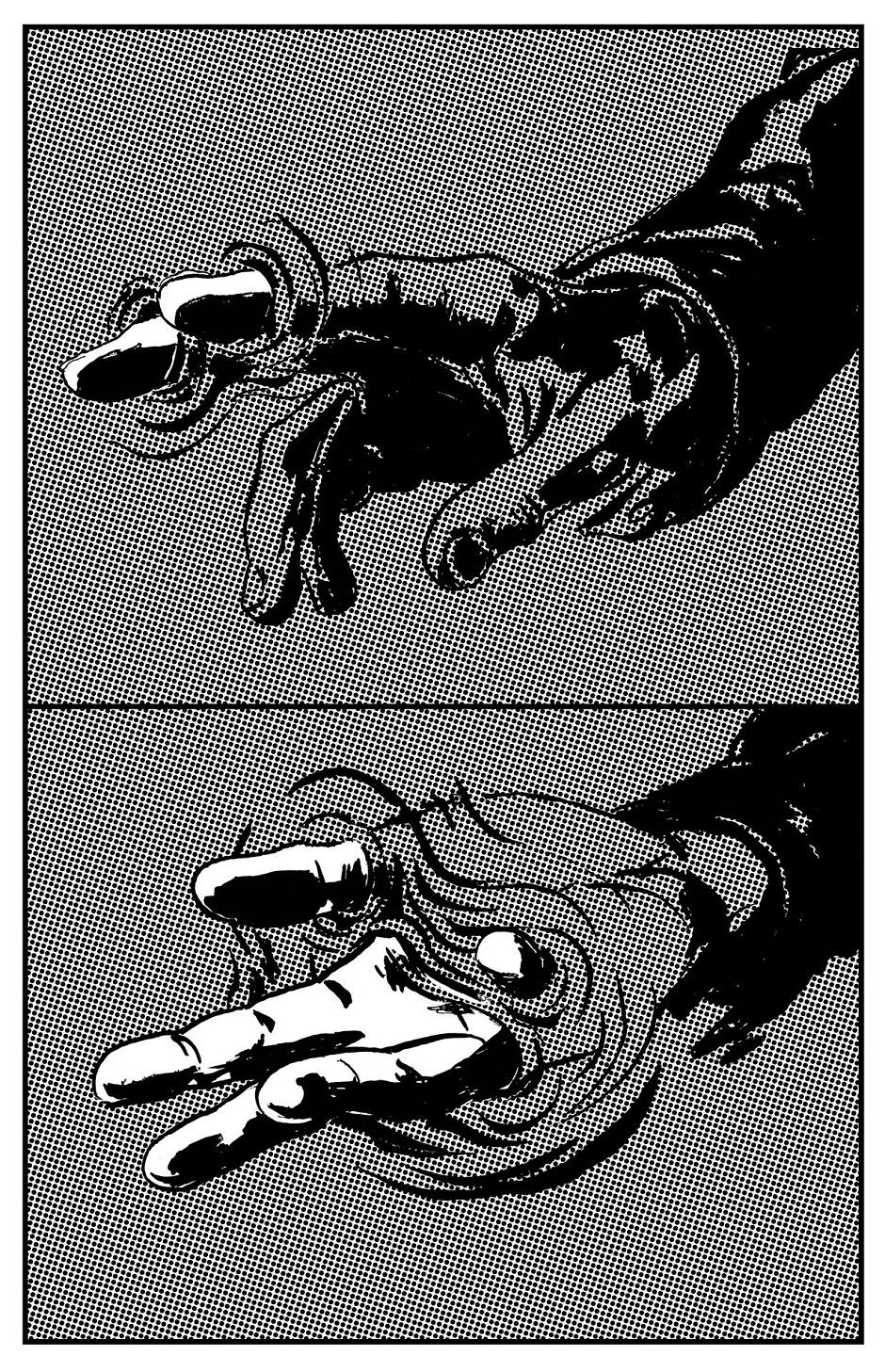 main autre côté
